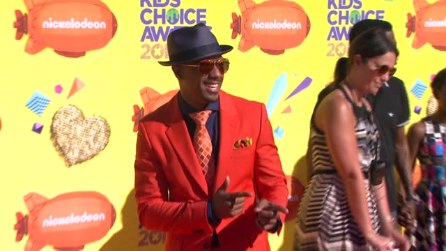 nick cannon at nickelodeon's 28th annual kids' choice awards at the forum on march 28 2015 in inglewood california - nick cannon stock videos & royalty-free footage