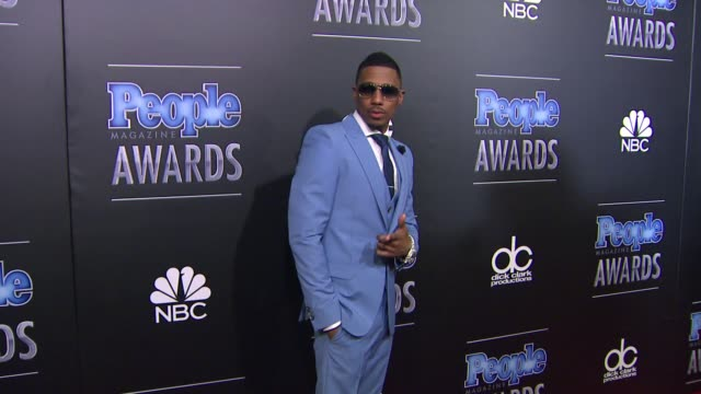 nick cannon at people magazine awards in los angeles ca - nick cannon stock videos & royalty-free footage