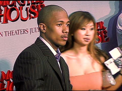 nick cannon at the 'monster house' los angeles premiere on july 18 2006 - nick cannon stock videos & royalty-free footage