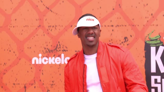 nick cannon at the nickelodeon kids' choice sports awards 2016 at ucla's pauley pavilion on july 14 2016 in westwood california - nick cannon stock videos & royalty-free footage