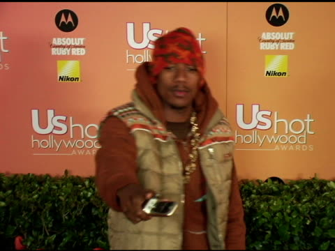 nick cannon at the us weekly hot hollywood awards at republic restaurant and lounge in los angeles, california on april 26, 2006. - us weekly stock videos & royalty-free footage
