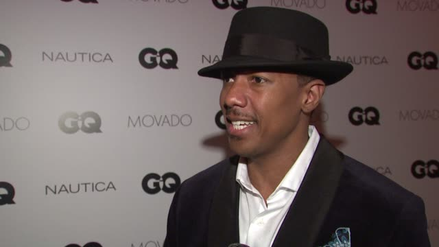 interview nick cannon discusses being the host of tonight's event how he is honored by a part of an event which supports so many important world... - nick cannon stock videos & royalty-free footage