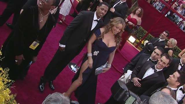 nick cannon mariah carey at the 82nd annual academy awards arrivals part 2 at los angeles ca - nick cannon stock videos & royalty-free footage
