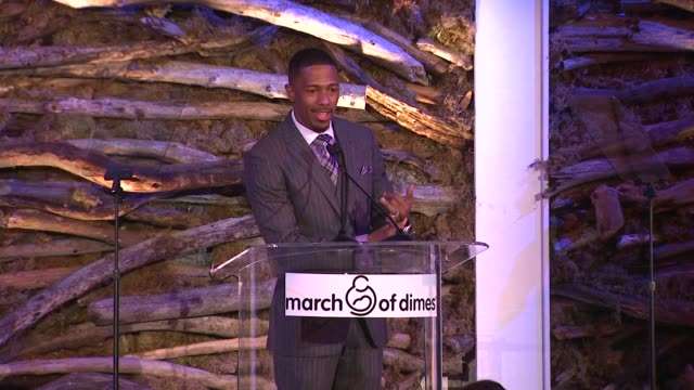 nick cannon on being a father at 7th annual march of dimes celebration of babies on in beverly hills ca - nick cannon stock videos & royalty-free footage