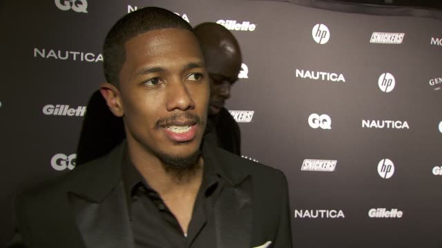 nick cannon on his work with halo and what that charity is about at the gq's the gentlemen's ball at new york ny - nick cannon stock videos & royalty-free footage