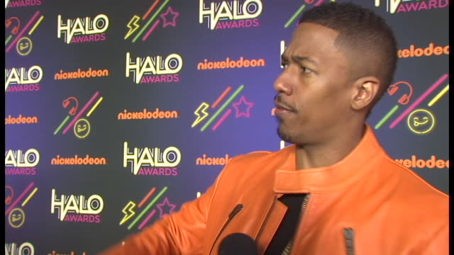 interview nick cannon on why he created the halo awards on the response to the show on being tired of awards shows only being for kissing up to... - nick cannon stock videos & royalty-free footage