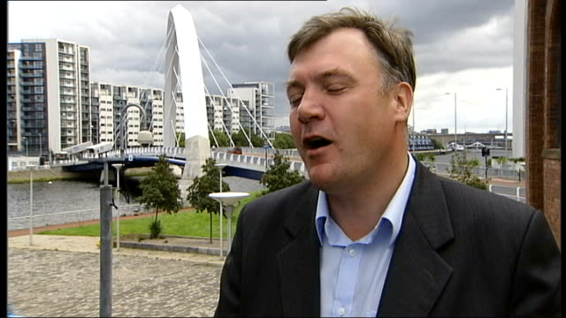 nick clegg comes under pressure over coalition government; scotland: glasgow: ext ed balls mp interview sot - former liberal democrat voters feel... - politics and government点の映像素材/bロール