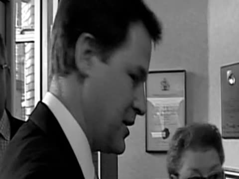 nick clegg has been confronted by the woman who shot to fame when gordon brown called her a bigot during the election campaign the deputy prime... - 50 seconds or greater stock videos & royalty-free footage