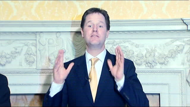 Nick Clegg hosts event for European Liberal Party leaders Press conference Clegg answer SOT New agreement should be limited in scope should be...