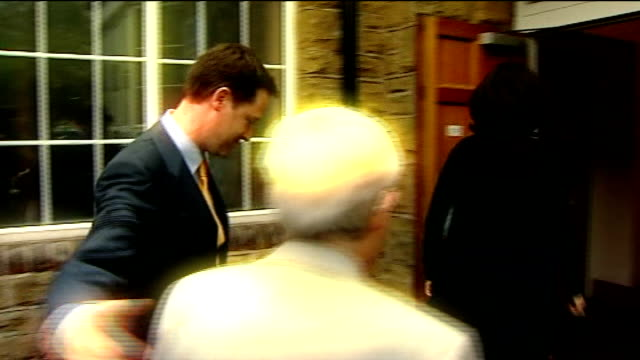 nick clegg outlines plans for electoral reform lib harrow int votes being counted for harrow east seat in general election west yorkshire sheffield... - cardigan sweater stock videos & royalty-free footage