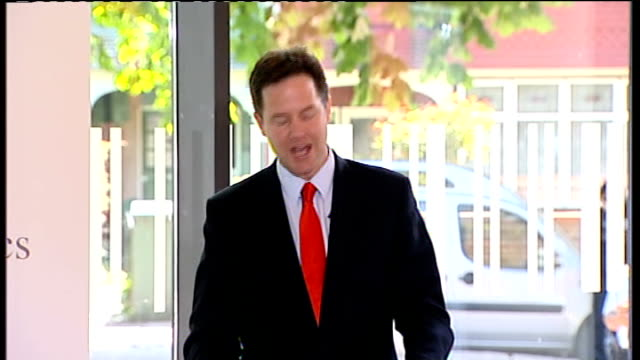 nick clegg outlines plans for political reform: speech; - so there will be no id card scheme. no national identity register, a halt to second... - politics and government stock videos & royalty-free footage