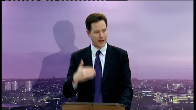 nick clegg speaks on community relations and dealing with extremism this is right and it means that our response to violent extremism has to engage... - social movement stock videos and b-roll footage