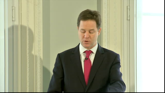 nick clegg speech at institute for government clegg speech sot we are working closely with developing nations too this problem is one of the world's... - place sign stock videos & royalty-free footage