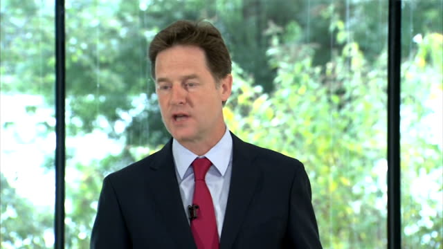 nick clegg speech on immigration; england: london: int nick clegg mp speech sot **speech transcript: check against delivery** - it should come as no... - only girls stock videos & royalty-free footage