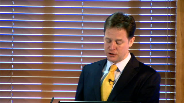 nick clegg wants the nhs to commit to a new ambition of zero suicides speech to mental health conference this is just the start of the radical... - health and safety点の映像素材/bロール