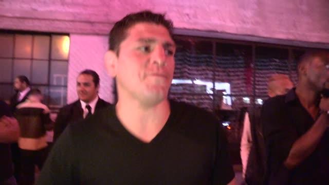 Nick Diaz on being Superman at DBA Club in West Hollywood in Celebrity Sightings in Los Angeles