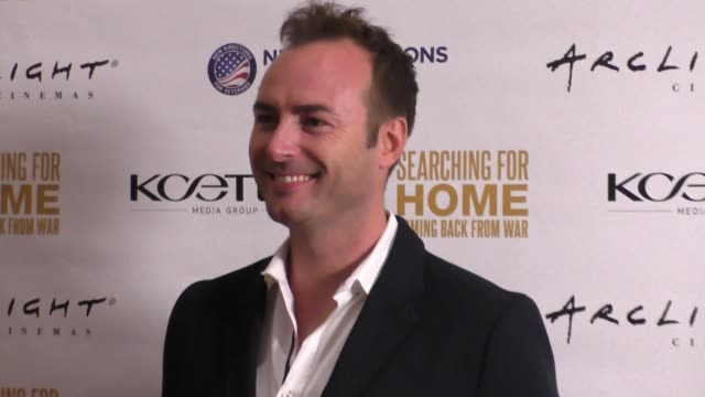 Nick Hardcastle at The Cast Of Lifetime Television's Army Wives Reunites For Searching For Home Coming Back From War at Arclight Theatre in Sherman...