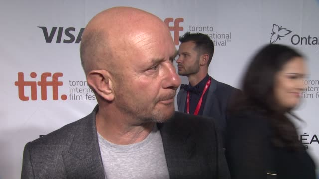 "vídeos de stock, filmes e b-roll de nick hornby on why he wanted to adapt this story and what he hopes the audience takes away from the film - ""wild"" premiere - toronto international... - festival de cinema de toronto"