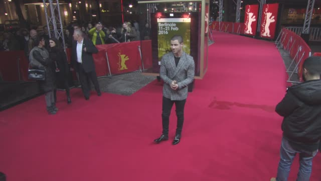 Nick Jonas at 'Goat' Red Carpet 66th Berlin International Film Festival at Zoo Palast on February 17 2016 in Berlin Germany