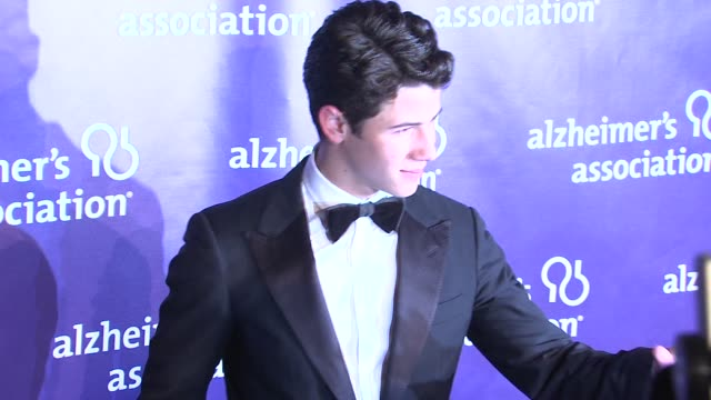 Nick Jonas at the 19th Annual 'A Night At Sardi's' Benefitting The Alzheimer's Association at Beverly Hills CA
