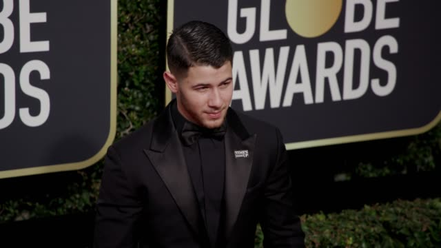Nick Jonas at the 75th Annual Golden Globe Awards at The Beverly Hilton Hotel on January 07 2018 in Beverly Hills California