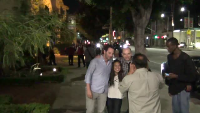 Nick Kroll and Paul Scheer outside Cat and Fiddle Restaurant in Hollywood at Celebrity Sightings in Los Angeles Nick Kroll and Paul Scheer outside...
