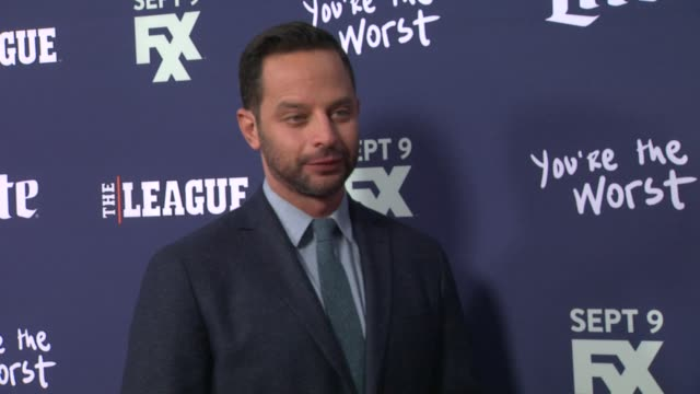 Nick Kroll at the Premiere of FXX's The League Final Season and You're The Worst 2nd Season at Regency Bruin Theater on September 08 2015 in Westwood...