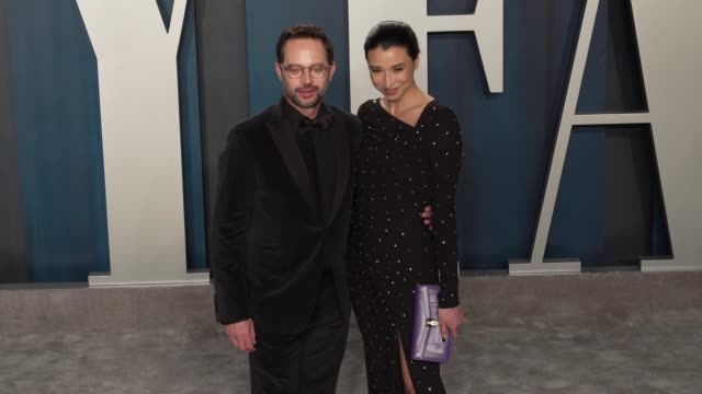 nick kroll at vanity fair oscar party at wallis annenberg center for the performing arts on february 09 2020 in beverly hills california - vanity fair video stock e b–roll