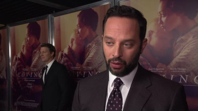 INTERVIEW Nick Kroll on his character Bernie Cohen why he feels Loving is still a relevant story today and his favorite scenes to shoot at Loving New...