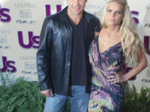 nick lachey and jessica simpson at the us weekly magazine and jessica simpson celebrate the young hot hollywood style awards at element hollywood in... - nick lachey stock videos & royalty-free footage