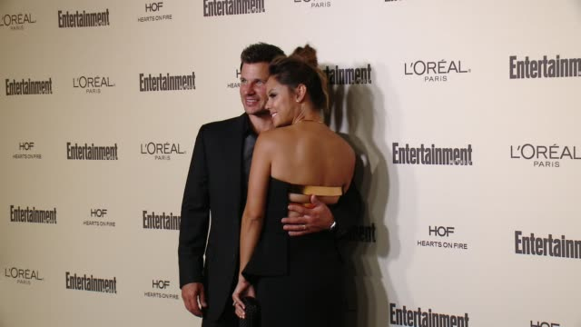 nick lachey and vanessa lachey at entertainment weekly's preemmy celebration at fig olive melrose place on september 18 2015 in west hollywood... - entertainment weekly stock videos and b-roll footage