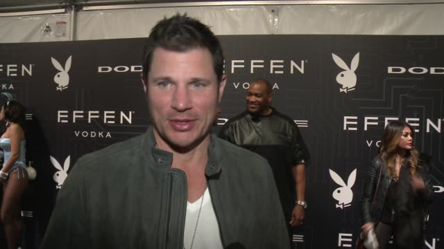 interview nick lachey at att park on february 05 2016 in san francisco california - nick lachey stock videos & royalty-free footage