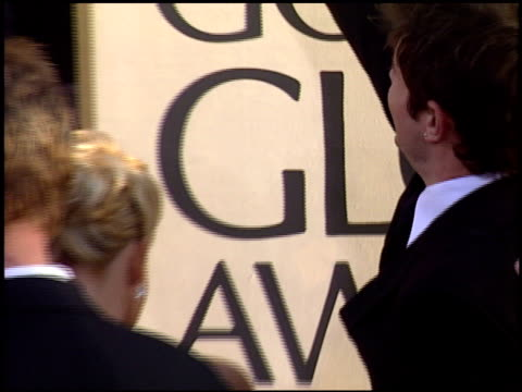 nick lachey at the 2004 golden globe awards at the beverly hilton in beverly hills, california on january 25, 2004. - nick lachey stock videos & royalty-free footage