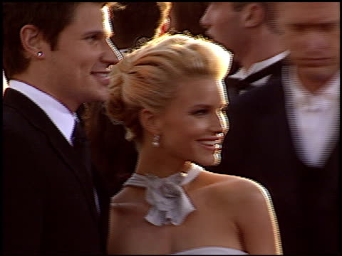 nick lachey at the 2004 golden globe awards at the beverly hilton in beverly hills california on january 25 2004 - nick lachey stock videos & royalty-free footage