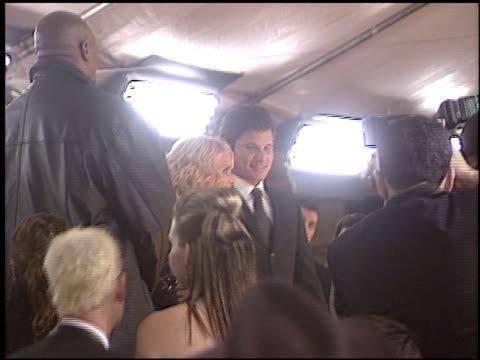 nick lachey at the 2005 people's choice awards at the pasadena civic auditorium in pasadena, california on january 9, 2005. - nick lachey stock videos & royalty-free footage
