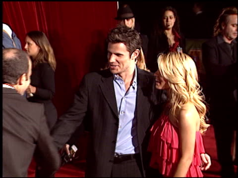 stockvideo's en b-roll-footage met nick lachey at the magic johnson tribute at the shrine auditorium in los angeles, california on february 12, 2004. - nick lachey