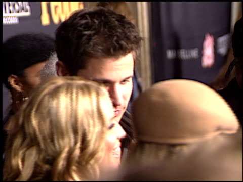 nick lachey at the teen people awards at the ivar in hollywood, california on january 13, 2003. - nick lachey stock videos & royalty-free footage