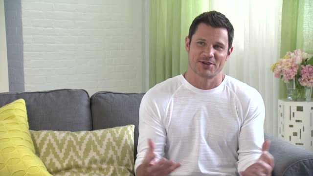 interview nick lachey talks about what being a parent entails for him he has a younger brother zach who struggles with asperger's syndrome so he has... - nick lachey stock videos & royalty-free footage