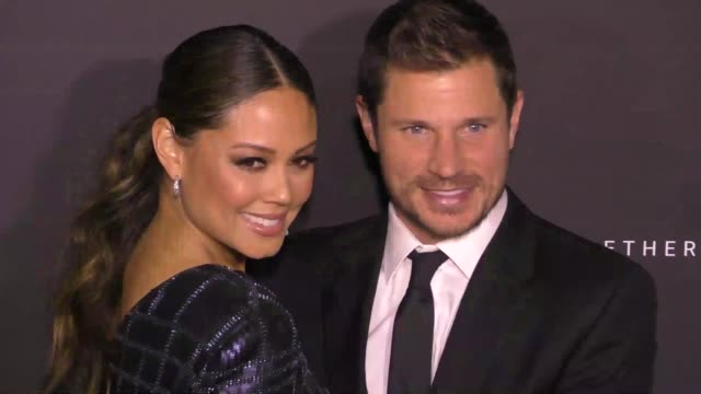 nick lachey vanessa lachey at the 7th annual baby ball gala on october 22 2017 in los angeles california - nick lachey stock videos & royalty-free footage