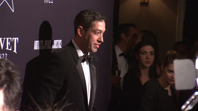 nick loeb at the hollywood domino annual preoscar soiree presented by bovet 1822 at the sunset tower hotel on february 19 2015 in west hollywood... - オスカーパーティー点の映像素材/bロール