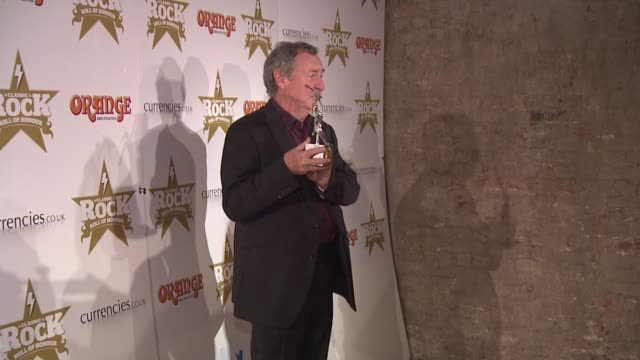 vidéos et rushes de nick mason at classic rock awards at the roundhouse on november 13, 2012 in london, england - rock moderne