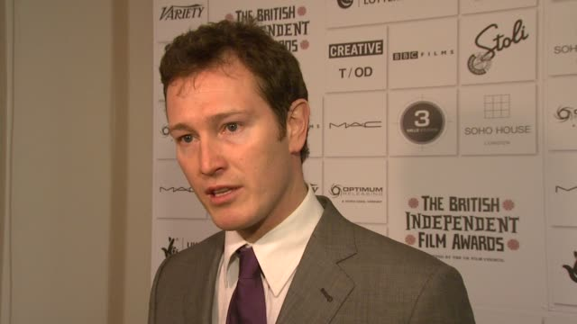 nick moran on having an affinity for the award on the ceremony being truly independent on watching the award going from strength to strength on the... - lock stock videos and b-roll footage
