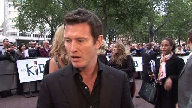 nick moran on reaction to the film on how telstar helped his career on the cast on working with kevin lewis on kevin's reaction to the film at the... - telstar stock-videos und b-roll-filmmaterial