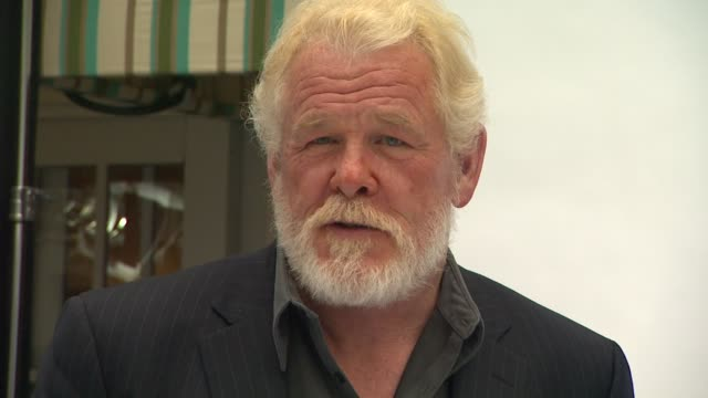 nick nolte at 84th academy awards nominations luncheon on 2/6/2012 in beverly hills, ca. - nick nolte stock-videos und b-roll-filmmaterial