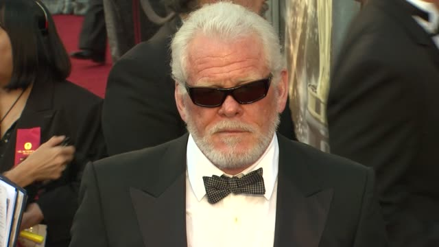 nick nolte at 84th annual academy awards - arrivals on 2/26/12 in hollywood, ca. - nick nolte stock-videos und b-roll-filmmaterial