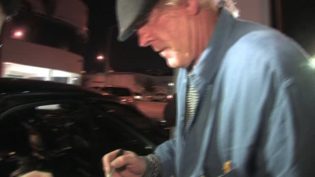 nick nolte at philippe of chow in west hollywood at the celebrity sightings in los angeles at los angeles ca. - nick nolte stock-videos und b-roll-filmmaterial