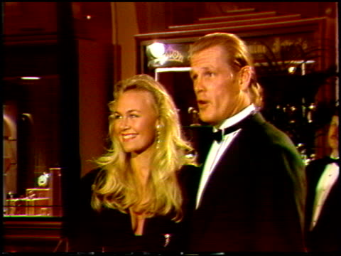 nick nolte at the 1988 golden globe awards at the beverly hilton in beverly hills, california on january 23, 1988. - nick nolte stock-videos und b-roll-filmmaterial