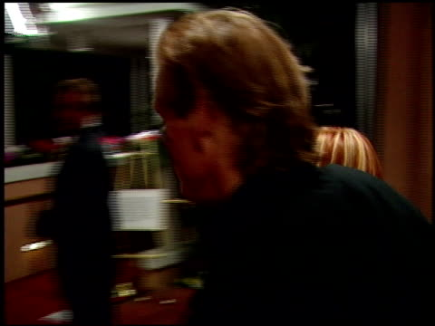 nick nolte at the 1999 academy awards miramax party at the beverly hilton in beverly hills, california on march 21, 1999. - nick nolte stock-videos und b-roll-filmmaterial