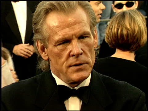 nick nolte at the 1999 screen actors guild sag awards at the shrine auditorium in los angeles, california on march 7, 1999. - nick nolte stock-videos und b-roll-filmmaterial