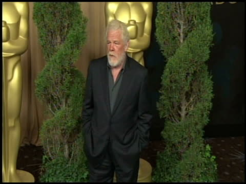 nick nolte at the 84th academy awards nominations luncheon in beverly hills, ca, on 2/6/12 - nick nolte stock-videos und b-roll-filmmaterial